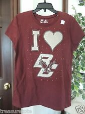 NWT Womens Size Large * BOSTON COLLEGE * BC Eagles T-Shirt   T-2