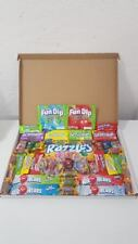 American Candy Gift Box - 50 Sweets, Jolly Rancher, Laffy Taffy, UK Store