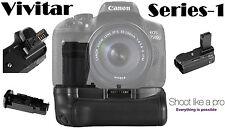 Vivitar Professional Power Grip Battery Grip For Canon Rebel T6i T6s 760D 750D