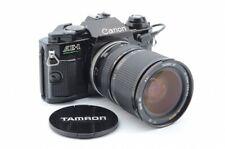 Canon AE-1 PROGRAM Black w/ DATA BACK A  Very Good Condition #392