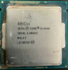 Intel i3-4340, 3.6Ghz, 4mb Cache, LGA 1150