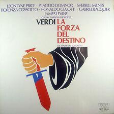 4-LP-Box VERDI - forza del destino-macht des schicksals, Levine