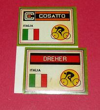 N°12 A & B COSATTO - DREHER PANINI SPRINT 71 CYCLISME 1971 WIELRIJDER CICLISMO