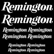 Remington sticker decal SET Hunting Firearm gun camping ammo camping