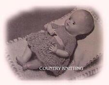 "Vintage Rosebud 6.5"" Baby Doll 6 piece set"