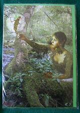 The Messenger appears FeenGrußkarte Fairy Card Mystik Fantasy Magie Digby Curtis
