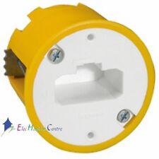 Boite luminaire applique DCL diamètre 54mm prof. 50mm bornes auto Legrand 89305