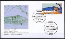 BRD 1998: Stuttgart! FDC der Nr. 1974 mit Bonner Ersttagssonderstempeln! 1708