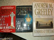 Lot of 36 Andrew M. Greeley Happy Are the Oppressed  Summer at the Lake  mystery