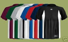 Easton A164382 Skinz/Bamboo Ad.Short Sleeve Crew MD GRN