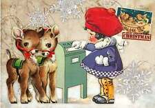 12 HANG/GIFT TAGS SCRAPBOOK RETRO  VINTAGE CHRISTMAS IMAGES (577+)