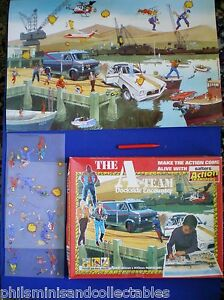 Salters Action Transfers set ' The A Team - Dockside Encounter ' Part Used  1984