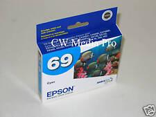 Genuine Epson 69 T0692 cyan ink Stylus NX515 NX510 NX415 NX410 NX400 NX305 NX300