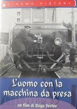 L'uomo con la Macchina da Presa (1929) DVD Nuovo Sigillato Dziga Vertov