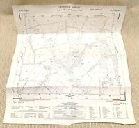 1957 Vintage Map of East Sussex Plumpton Wood Crossways Beresford Manor Chailey