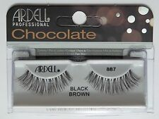 (LOT OF 72) ARDELL Professional Lashes Chocolate Black Brown #887
