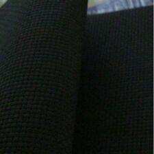 59 Inch X 1 Yard Cotton 14 Count Cross Stitch Black Fabric Aida