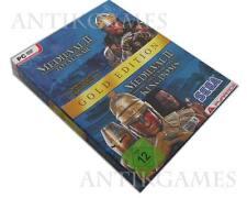 Total War: medieval II-Gold Edition PC, 2007, DVD-Box con manual y CD key