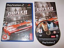 Driver: Parallel Lines ps2 -  Great condition WITH Book