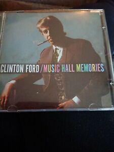 Rare Clinton Ford Music Hall Memories Cd