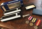 Lot of United States Air Force Medals, Pins & Shoulder Boards Epaulets