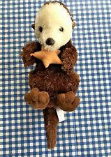 "Otter With Star Plush Aurora International Nation 15"" long Realistic"