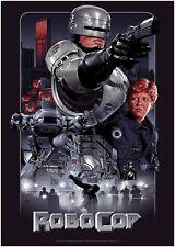 Robocop Classic Movie Poster Art Print A1 A2 A3 A4 Maxi