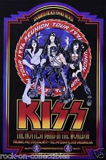 Kiss 1996 New Orleans Superdome Original Concert Poster Signed & Numbered