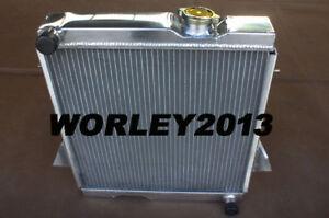 3 row aluminum radiator for Triumph TR6 1969-1974 TR250 1967 1968