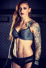 Incorniciato stampa-Megan Anderson MMA FIGHTER (Picture INVICTA UFC Arti Marziali)