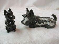 Vintage Japan George Good & other porcelain Scottie Dog Figurines