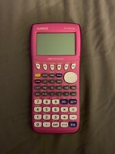 Casio Fx-9750Gii Graphing Calculator - pink and purple