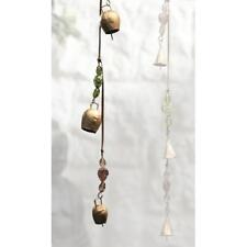 More details for string of hand made indian metal cow bells / door alarm / hanging / mobile