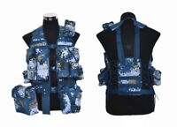07's series China PLA Navy Marine Ocean Digital Camo Combat Tactical Vest,Set.