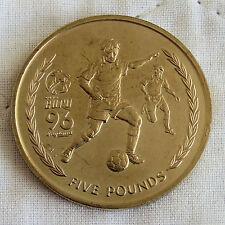 ISOLA di Man 1996 EURO CALCIO KIT virenium £ 5