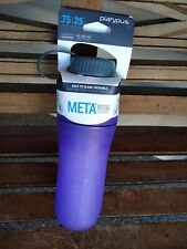 Platypus Meta Bottle .75 Liter 25 Oz. BPA BPS Free Flexible Purple FASTFREE SHIP