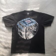 ffbaa1ffb Reebok Mens New York Giants Championship Ring Black Large T Shirt 100%  Cotton