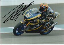 Louis Rossi mano firmado 7x5 Foto Tech 3 Moto 2 MotoGP 10.