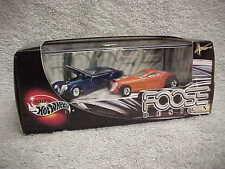100% Hot Wheels Chip Foose Design MIP 2 Car Set Manhattan & Hemisfear from 2001