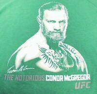 NEW MENS REEBOK UFC CONNOR MCGREGOR SHIRT T-SHIRT SIZE MEDIUM,LARGE