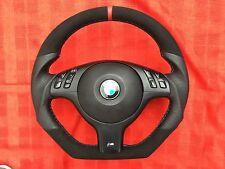 BMW M3 M5 E46 E39 X5 INDIVIDUAL FLAT BOTTOM CUSTOM MADE
