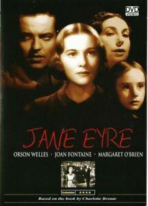 Jane Eyre DVD Orson Welles Joan Fontaine Brand New Australian Release