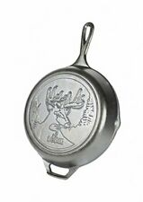 Lodge Wildlife Series - 10.25 Inch Seasoned Cast Iron Skillet