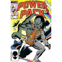 Power Pack (1984 series) #7 in Near Mint + condition. Marvel comics [*2j]