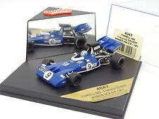 Quartzo 1/43 - F1 Tyrrell 003 Winner USA GP 1971 Cevert