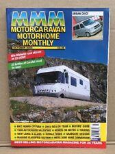 Motorcaravan Motorhome Monthly MMM Magazine OCTOBER 2002 Hymermobil S820
