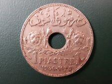 1936 Lebanon 1 Piastre coin - Etat Du Grand Liban - Please see pictures