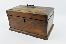 Sarcophagus tea caddy wooden box old and antique