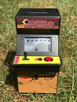 Retro Space Invaders Mini Electronic Arcade Game Pay to Play Money Box - NEW