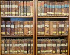 """Eindrucksvolle Bibliothek, 65 Halblederbände """"Geschichte der europäischen Staate"""